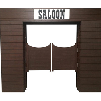 Wild West Prop Saloon doors