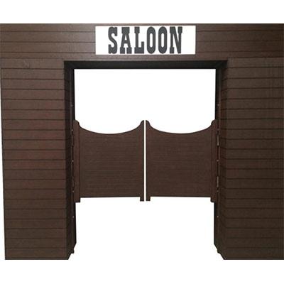 Wild West Prop Saloon doors