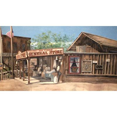Wild West Backdrop