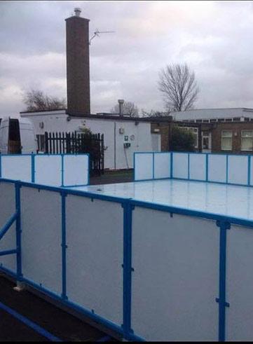 ice skating rink hire