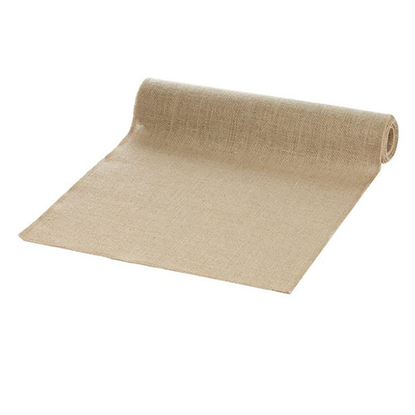 hessian table runner hire