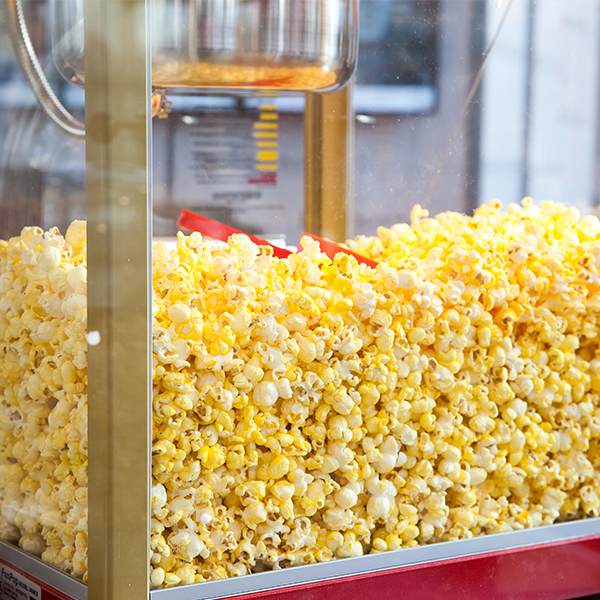 popcorn for hire