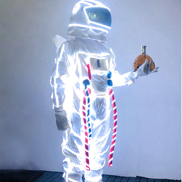 LED Space Suit Hire